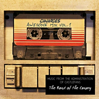 The Band of the Canary Awesome Mix Vol.1