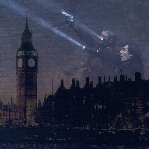 and the night over london lay: a demon hunter!au mix