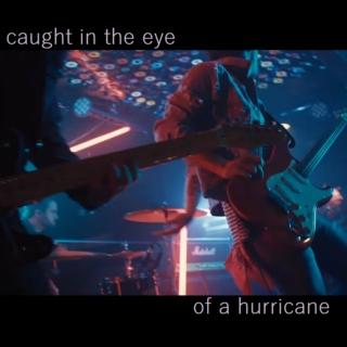 caught in the eye of a hurricane
