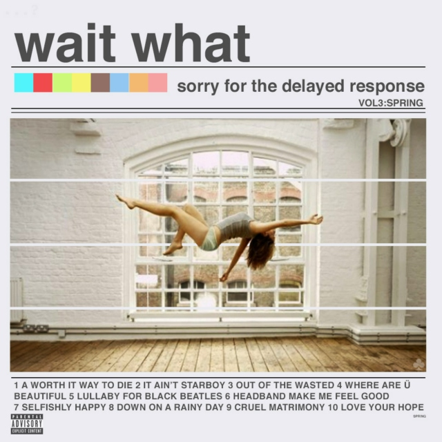 wait what - sorry for the delayed response (vol3:spring)