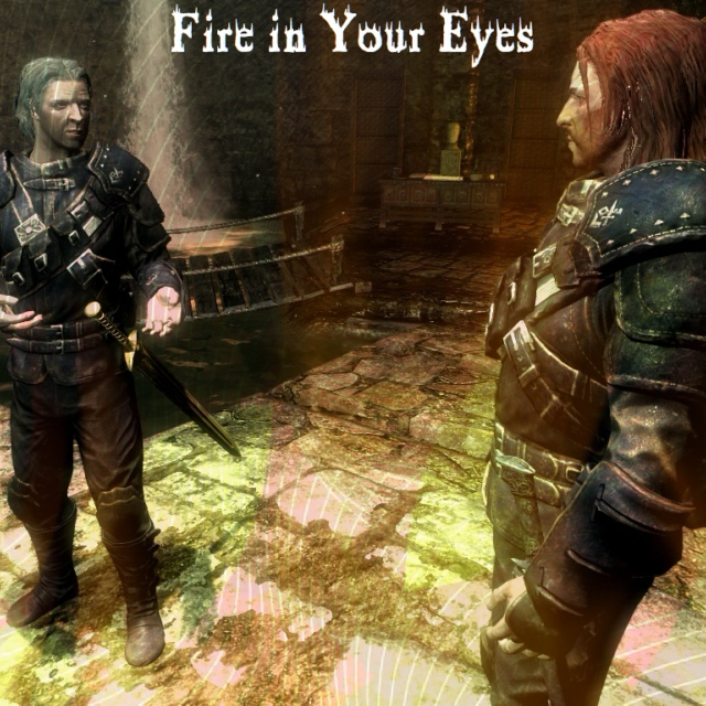 Fire in Your Eyes: A Mercer Frey/Brynjolf Playlist