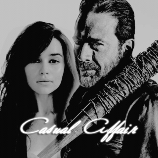 CASUAL AFFAIR; daenerys x negan.