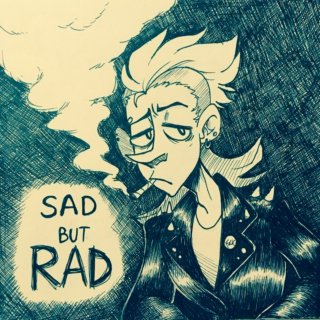 sad but rad
