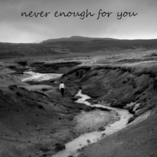 Never Enough For You