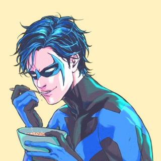 ipad Dick Grayson
