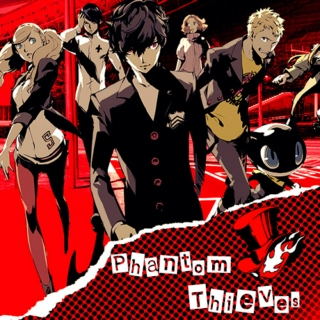 The phantom thieves (A persona 5 mix)