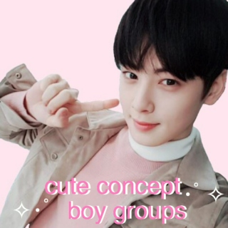 cute boy groups !!