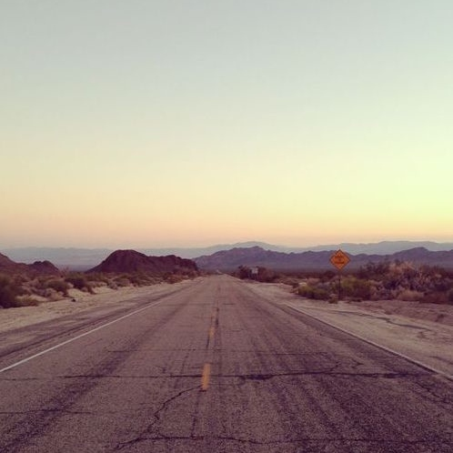endless roadtrip. in the afternoon.