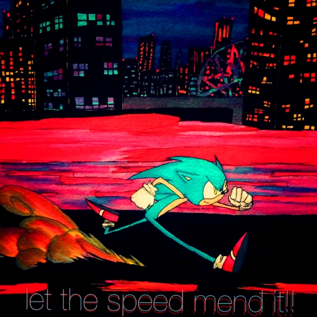let the speed mend it!!