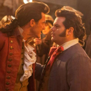 no one breaks hearts like gaston (gaston + lefou)