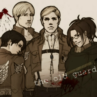 the old guard [survey corps veterans]