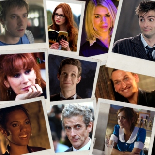 The Doctors and their companions