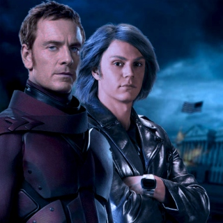 father and son: an erik lehnsherr and peter maximoff mix
