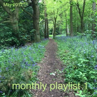 monthly playlist 1 (May 2017)