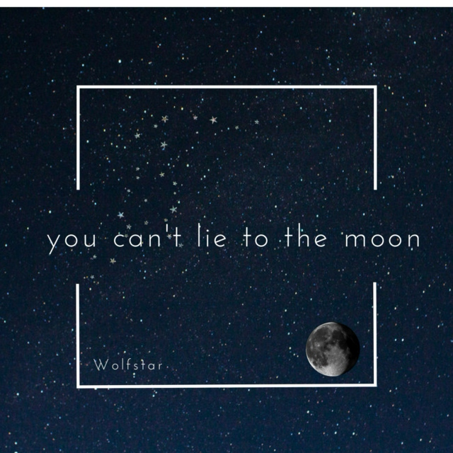 you can't lie to the moon