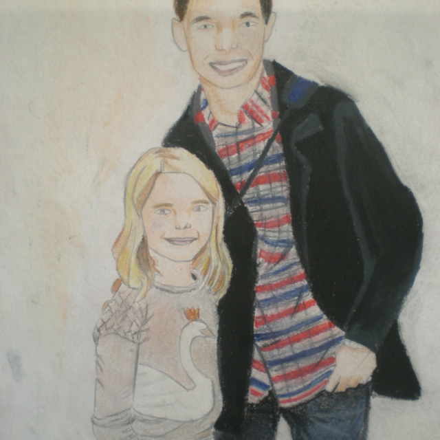 young Emma and Henry