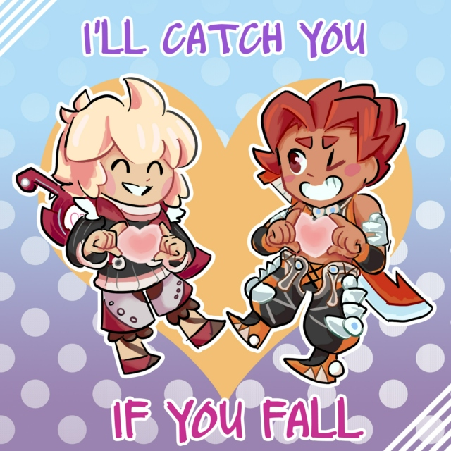 {I'll catch you if you fall}