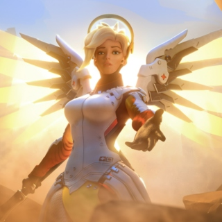 Heroes Never Die! (Mercy  playlist)