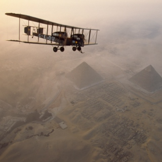 Flying Over Pyramids