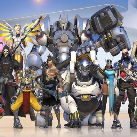 HEROES OF OVERWATCH | SIDE A