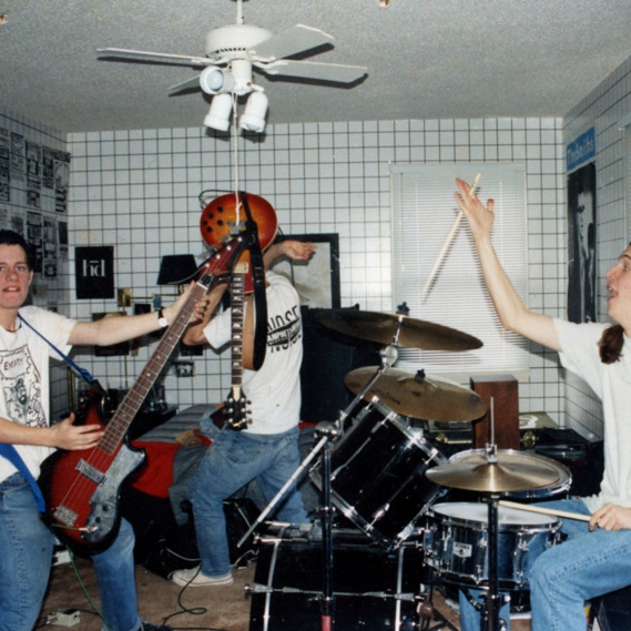 my cool older brother's in a band