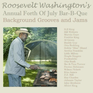 Roosevelt Washington's Annual Forth of July Bar-B-Que Background Grooves and Jams