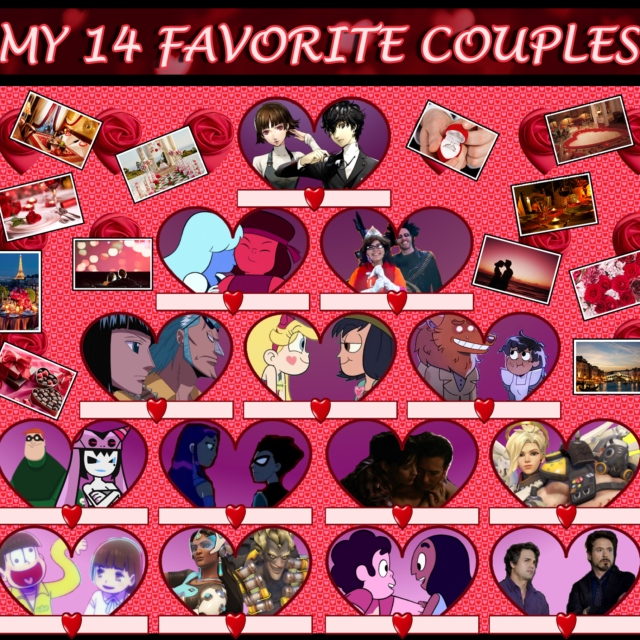 My 14 Favorite Couples