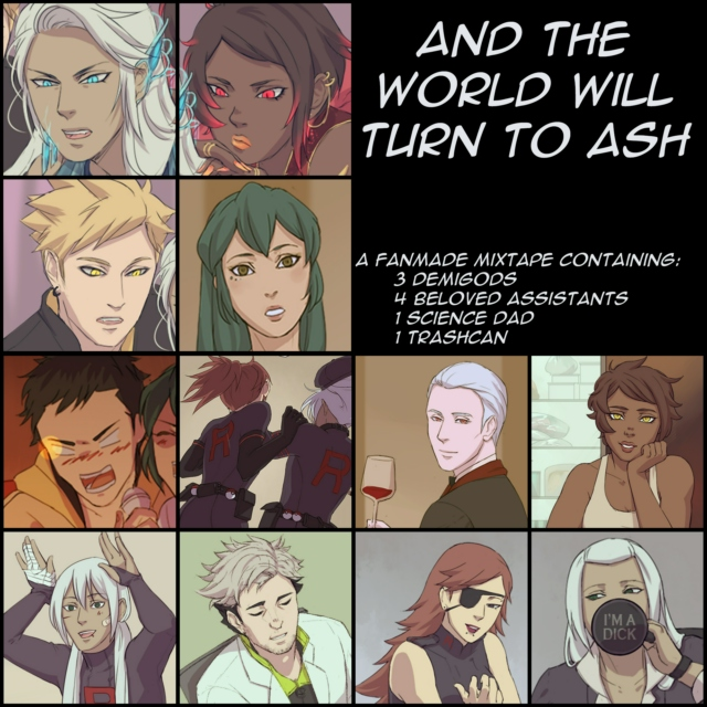 And The World Will Turn To Ash : a semi-serious crackmix