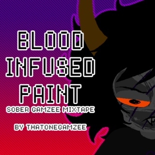 Blood Infused Paint