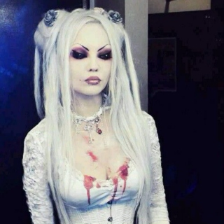 White Frosted Goth