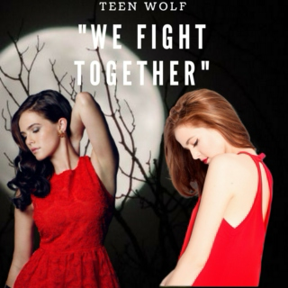 """ We fight together "" 