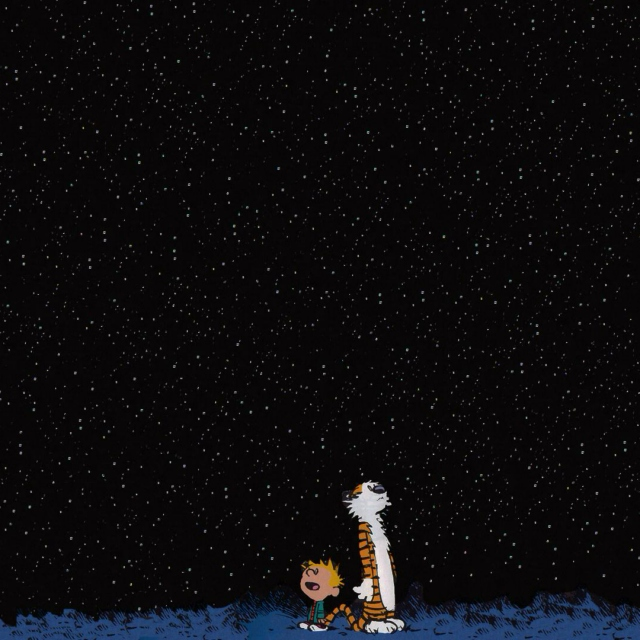 ♡My smol sons Calvin and Hobbes♡