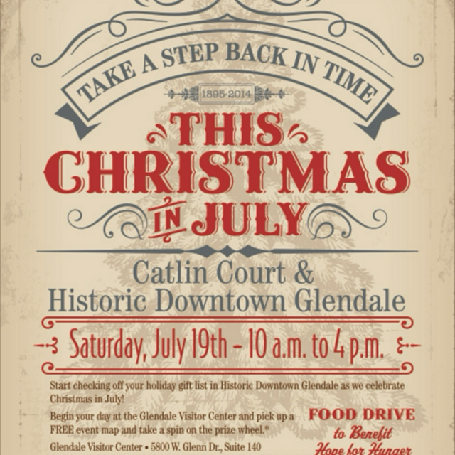 Christmas in July-Glendale Edition