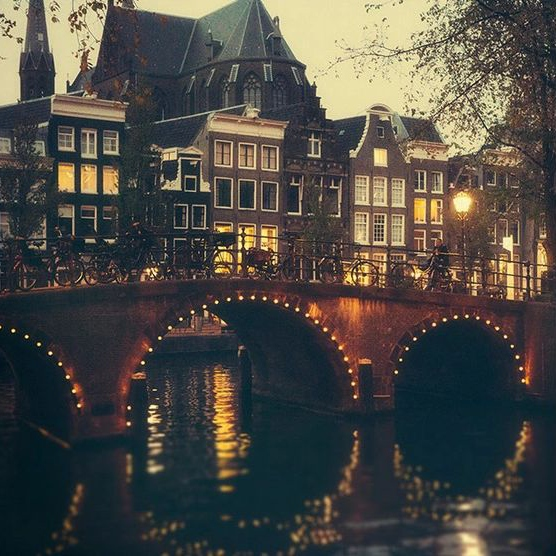 Long Walks in Amsterdam
