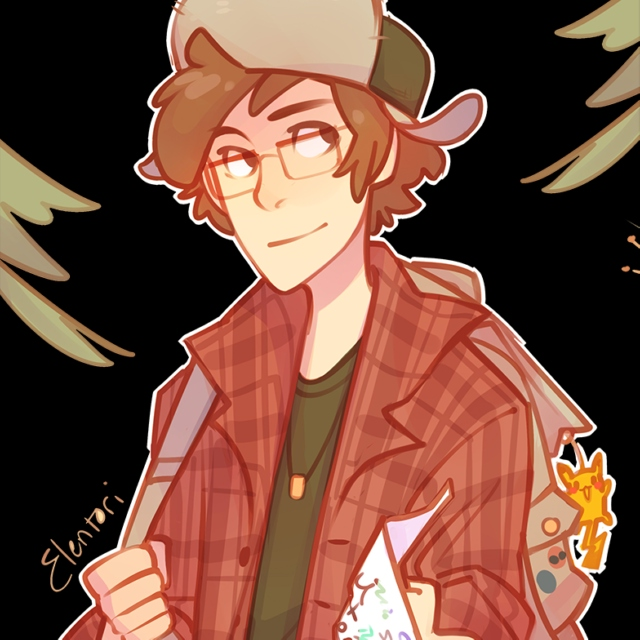 ready or not (older!dipper pines)