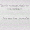 Rosemary, For Remembrance: Fifteen Songs For Seven Birds
