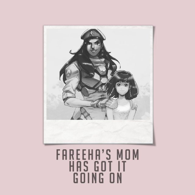 fareeha's mom has got it going on