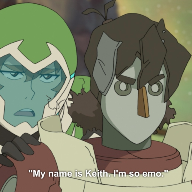 """My name is Keith. I'm so emo."""