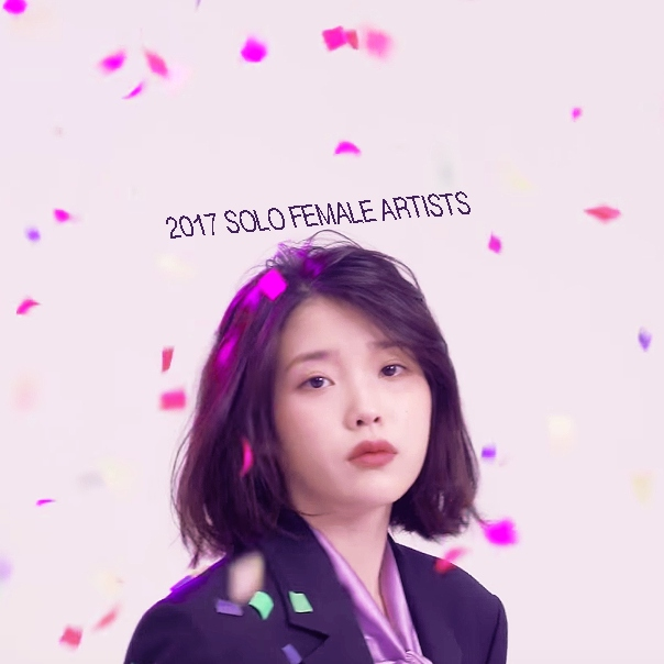 2017 SOLO FEMALE ARTISTS