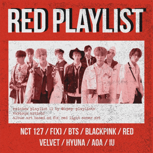 RED (rainbow playlist 01)