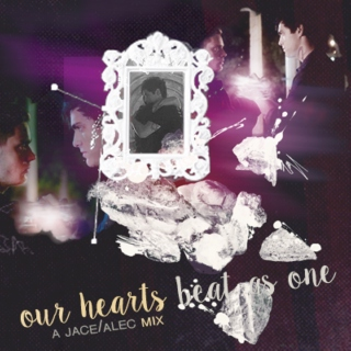 Our hearts beat as one ❤