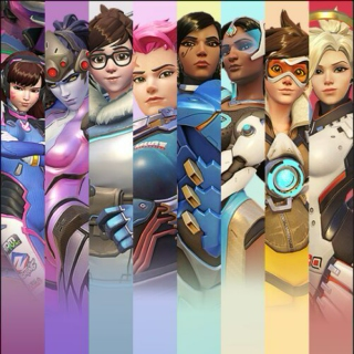 The women of overwatch