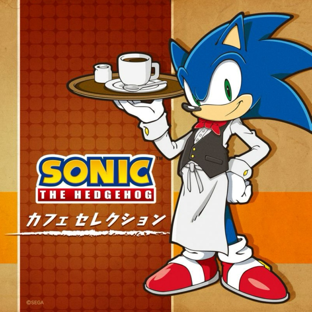SONIC THE HEDGEHOG ANNIVERSARY PACKAGE: CAFE SELECTION