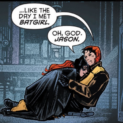 """I'll never be Dick Grayson"""