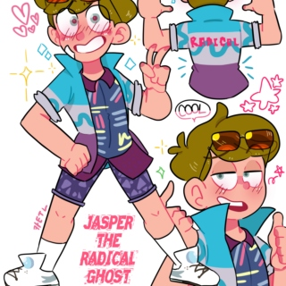 Jasper The Radical Ghost