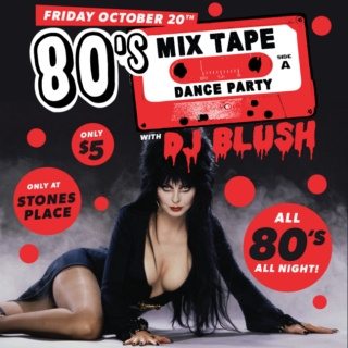 80's Mix Tape Dance Party Halloween