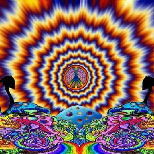 My soul has been psychedelicized!
