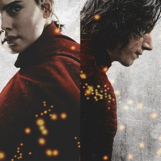 REY & KYLO / Two halves of a whole.