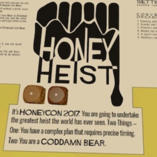 The Boys Are Back - a Honey Heist Mix