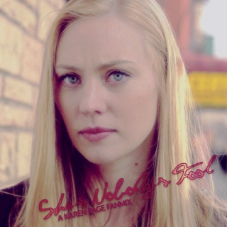 She's Nobody's Fool: A Karen Page Fanmix